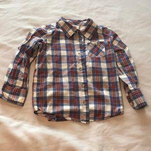 Old Navy Boys Plaid Shirt